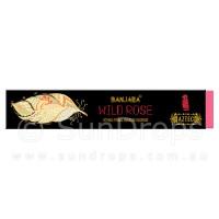 Banjara Incense Smudge Sticks - Wild Rose - 15g