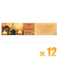 Goloka Aromatherapy Series - Nutmeg - 15g x 12