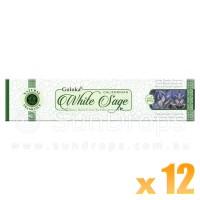 Goloka Natural Series - Californian White Sage - 15g x 12