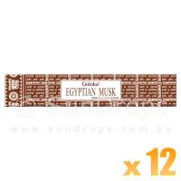 Goloka Premium Series - Egyptian Musk - 15g x 12