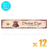 Green Tree Incense Sticks - Divine Eye - 15g x 12
