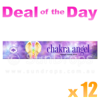 Green Tree Incense Sticks - Chakra Angel - 15g x 12
