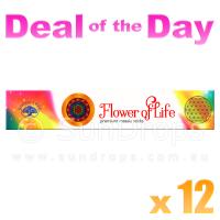 Green Tree Incense Sticks - Flower of Life - 15g x 12
