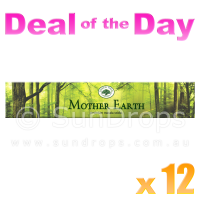 Green Tree Incense Sticks - Mother Earth - 15g x 12