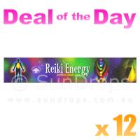 Green Tree Incense Sticks - Reiki Energy - 15g x 12