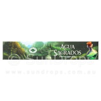 Green Tree Incense Sticks - Agua Sagrados - 15g