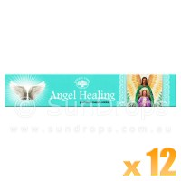 Green Tree Incense Sticks - Angel Healing - 15g x 12