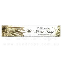 Green Tree Incense Sticks - Californian White Sage - 15g