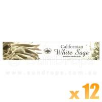 Green Tree Incense Sticks - Californian White Sage - 15g x 12