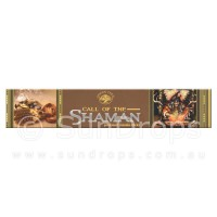 Green Tree Incense Sticks - Call of the Shaman - 15g
