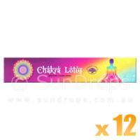 Green Tree Incense Sticks - Chakra Lotus - 15g x 12