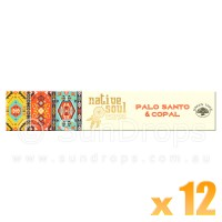 Native Soul Incense Smudge Sticks - Palo Santo & Copal - 15g x 12