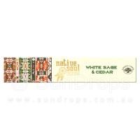 Native Soul Incense Smudge Sticks - White Sage & Cedar - 15g