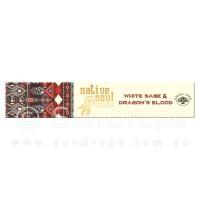 Native Soul Incense Smudge Sticks - White Sage & Dragons Blood - 15g