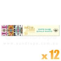 Native Soul Incense Smudge Sticks - White Sage & Palo Santo - 15g x 12