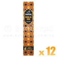Hari Darshan Noor Incense - Dehn Al Oud - 15g x 12