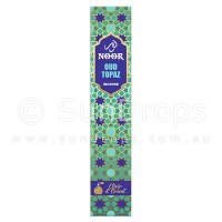 Hari Darshan Noor Incense - Oud Topaz - 15g