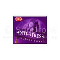 Hem Incense Cones - Anti-Stress - 1 Packet / 10 Cones