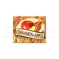 Hem Incense Cones - Cinnamon Apple - 1 Packet / 10 Cones