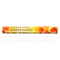 Hem Incense Sticks - Amber Honey - 1 Packet / 20 Sticks