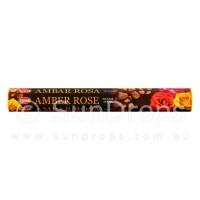 Hem Incense Sticks - Amber Rose - 1 Packet / 20 Sticks