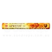 Hem Incense Sticks - Apricot - 1 Packet / 20 Sticks