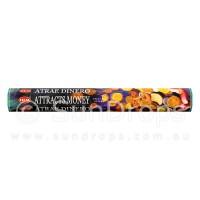 Hem Incense Sticks - Attracts Money - 1 Packet / 20 Sticks