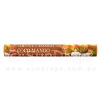 Hem Incense Sticks - Coconut Mango - 1 Packet / 20 Sticks