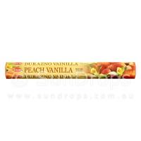 Hem Incense Sticks - Peach Vanilla - 1 Packet / 20 Sticks
