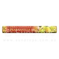Hem Incense Sticks - Pear Vanilla - 1 Packet / 20 Sticks