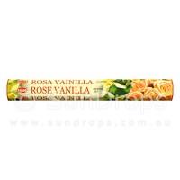Hem Incense Sticks - Rose Vanilla - 1 Packet / 20 Sticks