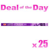Hem Incense Sticks - Anti-Stress - 25 Packets / 200 Sticks