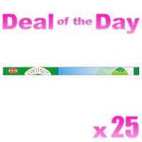 Hem Incense Sticks - Coconut - 25 Packets / 200 Sticks