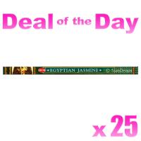 Hem Incense Sticks - Egyptian Jasmine - 25 Packets / 200 Sticks