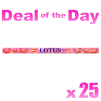 Hem Incense Sticks - Lotus - 25 Packets / 200 Sticks