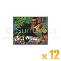 Kamini Incense Cones - Black Opium - 12 Packets / 120 Cones