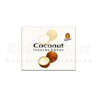 Kamini Incense Cones - Coconut - 1 Packet / 10 Cones