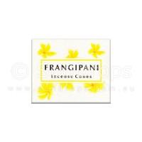 Kamini Incense Cones - Frangipani - 1 Packet / 10 Cones