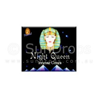 Kamini Incense Cones - Night Queen - 1 Packet / 10 Cones