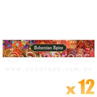 Kamini Incense Sticks - Bohemian Spice - 15g x 12