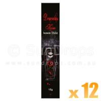 Kamini Incense Sticks - Dracula's Kiss - 15g x 12