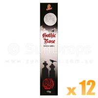 Kamini Incense Sticks - Gothic Rose - 15g x 12
