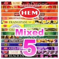 Mixed Hem Squares - 5 Packets / 40 Sticks