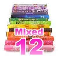 Mixed Hex Packs - All Brands - 12 Packets / 240 Sticks
