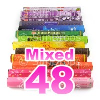Mixed Hex Packs - All Brands - 48 Packets / 960 Sticks