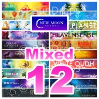 New Moon Incense Sticks - Mixed Pack - 15g x 12