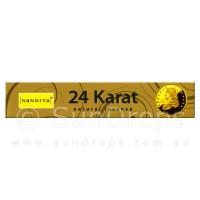 Nandita Incense Sticks - 24 Karat - 15g
