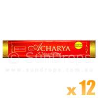 Nandita Incense Sticks - Acharya - 15g x 12