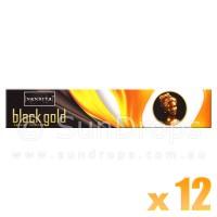 Nandita Incense Sticks - Black Gold - 15g x 12