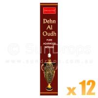 Nandita Incense Sticks - Dehn Al Oudh - 15g x 12